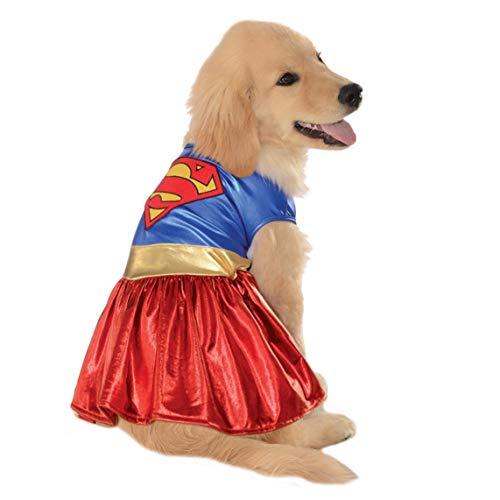 DC Comics Pet Costume, X-Large, Supergirl