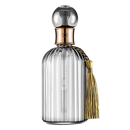CareMont Botella de Perfume Retro Humidificador Aroma de Vidrio Difusor de Aceite Esencial Aerosol de PurificacióN de Aire DecoracióN de Escritorio para el Hogar - G