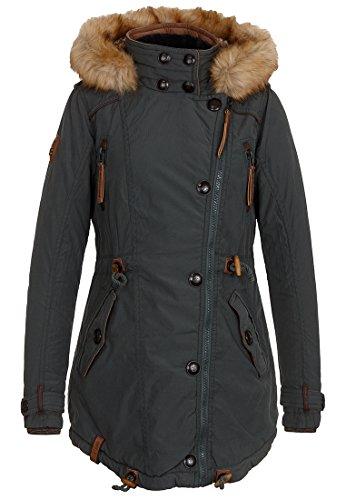Naketano Female Jacket Sissimuschi VI Dark, Dark Green, Gr. S