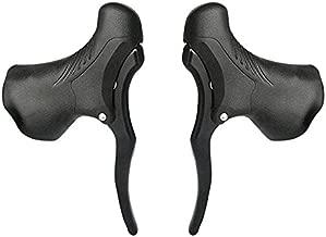 Lixada Bicycle Brake Handle 1 Pair Universal Aluminum MTB Mountain Bike Cycling Brake Levers Front & Rear Brake Levers Drop Handlebar Set
