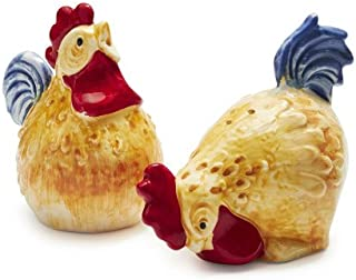 Sur La Table Jacques P233;pin Collection Figural Chicken Salt and Pepper Shakers
