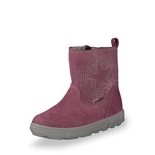 RICOSTA Pepino by Fille Bottes COSI, Bottes d'hiver pour Enfants, Chaussures d'extérieur,Doublées,Imperméables à l'eau,Sucre,24 EU / 7 UK
