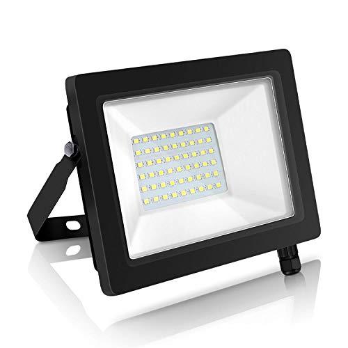 Aigostar Projecteur LED Extérieur 30W,2700lm Blanc Froid 6400K Spot LED Extérieur économiseur d'énergie 85%,IP65 Imperméable lumière de Sécurité,pour Jardin,Patio,Cour,Garage