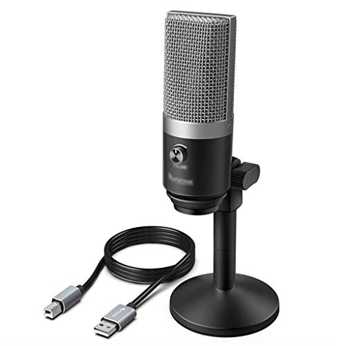 TJLSS USB Microphone for Laptop and Computers for Recording Streaming Twitch Voice Overs Podcasting for Skype (Color : B)