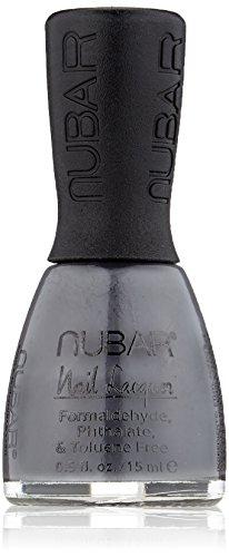 Nubar Mode Nagellack velvet silver, 1er Pack (1 x 15 ml)