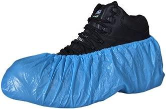 100 standard disposable shoe covers / overshoes. Floor, carpet, shoe protectors CPE 2.6g x 100. With Caresupermarket Pen