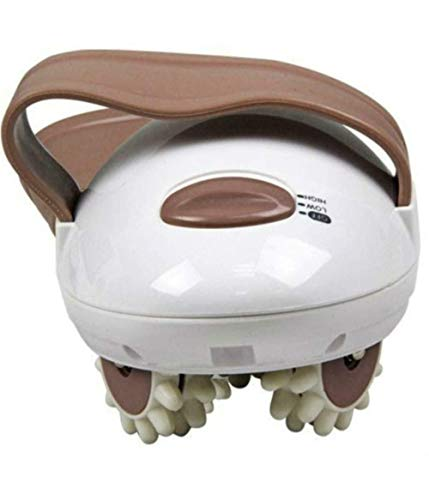 Rodillo 3D Masajeador Moldeador de grasa eléctrico Rodillo de masaje manual, masajeador de celulitis para cara, brazo, mano, cuello, pie y cuerpo completo