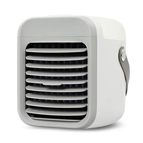 BLAUX Portable AC - Aire acondicionado portátil silencioso a batería con iluminación ambiental | Climatizador portátil y enfriador de aire | Climatizador frío portátil | Mini aire acondicionad