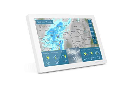 wetteronline home – W-LAN Profi-Wetterstation von WetterOnline – einfache Einrichtung, Wettervorhersage, Unwetterwarnung, RegenRadar