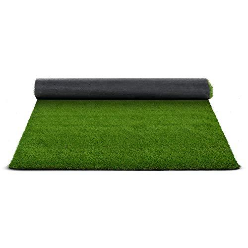 Premium Kunstrasen | Rasenteppich | Rollrasen | Kunststoffrasen | Garten-Rasen | Rasen für Balkon, Terrasse & Garten | viele Modelle | verschiedene Größen & Stärken (Tosca (Höhe: 35mm), 200x500 cm)