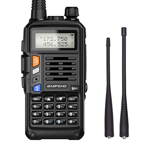 Baofeng UV-S9X3 5 Watt Tri-Band Radio : VHF, 1.25M, UHF, with 2200mAh...