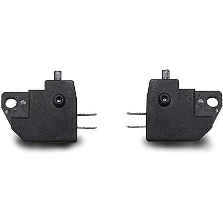 K/&S Technologies Motorcycle Black Front Brake Light Switch for Honda