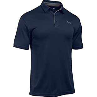 Tech Polo Men's Short-Sleeve Shirt, Midnight Navy / Graphite / Graphite (410), Large:Schedulingsoftware