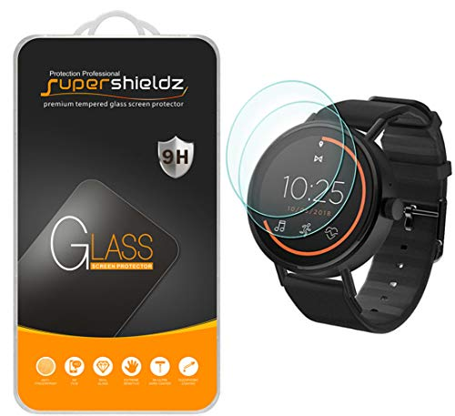 (2 Pack) Supershieldz for Misfit Vapor 2 (46mm) Tempered Glass Screen Protector, 0.33mm, Anti Scratch, Bubble Free