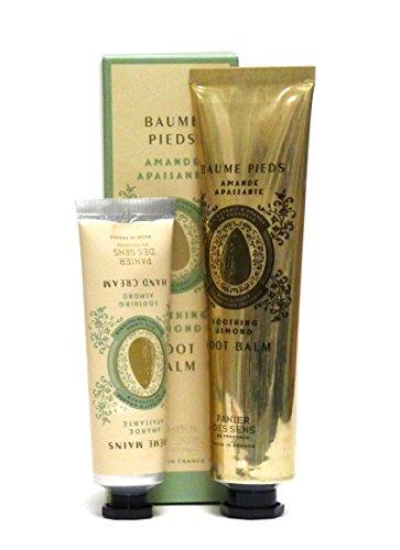 empanar des sens Cuidado Set almendra: Crema de manos 30ml & anticallos 75ml con beruhigendem mandelölextrakt & sheabu tter, 2piezas