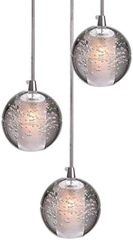 G4-LED Kristallkugel Pendelleuchte, verstellbare Deckenleuchte, Deko Kronleuchter, Wohnzimmer Dachgeschossbeleuchtung Treppe Foyer Scheune Restaurant Bar Chrom Deckenlampe 1 3 5 7 14 26 36 Kopf