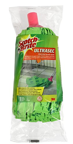 Scotch-Brite Fregona Ultrasec, Compuesto, Multicolor, 18x18x26 cm