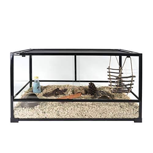 Niteangel Glass Pet Cage for Hamsters