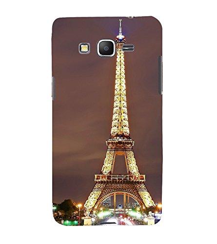 PrintVisa Eiffel Tower 3D Hard Polycarbonate Designer Back Case Cover for Samsung Galaxy Grand Prime :: Samsung Galaxy Grand Prime Duos :: Samsung Galaxy Grand Prime G530F G530FZ G530Y G530H G530FZ/DS