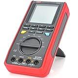 NO BRAND Osciloscopio Digital Tester Digital Alcance LCD 3.3inch Metros Multi Digital Tiempo Real Alcance de frecuencia de muestreo (Color : Rojo, tamaño : Un tamaño)
