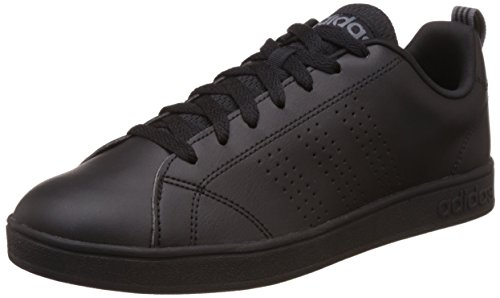 adidas NEO Vs Advantage Clean, Zapatillas de Deporte Unisex Adulto, Negro (Core Black/Lead), 46 EU
