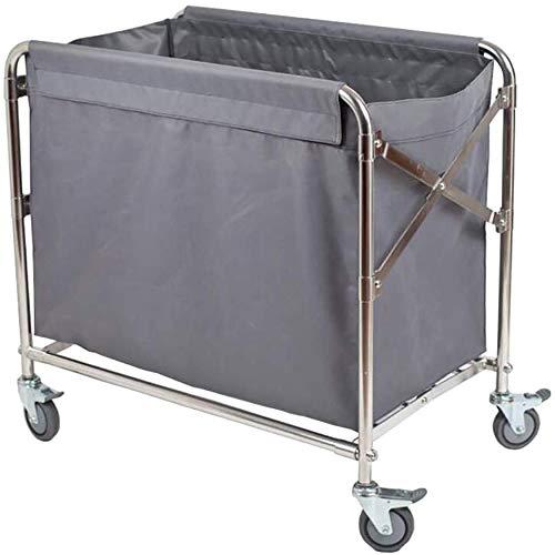 CART Haushalts-medizinische Gebrauchs-Wagen-Hand-LKWs, die Lobby-Wäschewagen mit Universalbremsrad,...