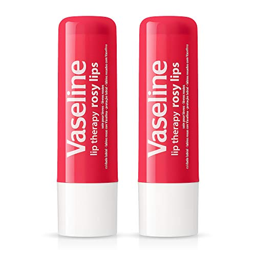 Vaseline Rosy Lip Therapy Stick - .16 oz (Pack of 2)