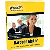 WASP PLATINUM PARTNERS 633808105167 WASP BARCODEMAKER SINGLE PC LICENSE BOXED PRODUCT