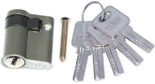 Profilzylinder 40 mm 30/10 Türschloss Zylinder 5 Schlüssel