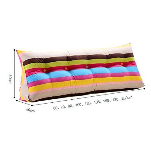 uus Ergonomique Design Triangle Sofa Coussin Coussin de lit amovible coton lavable en coton 3D haut-élastique en coton perle de remplissage doux et confortable ( taille : 70cm(2 Buttons) )