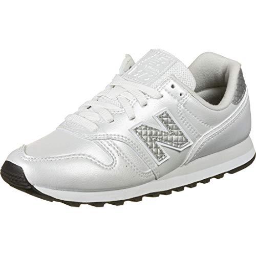 New Balance Damen 373v2 Sneaker, Weiß (White/Grey Gd2), 40.5 EU