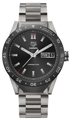 TAG Heuer CONNECTED Smart Watch di lusso (compatibile con Android/iPhone) (metallo al titanio)