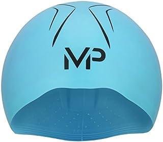 MP Michael Phelps X-O gorro de natación, X-O, Blu/BLK, LG, MP, 2018, azul/negro