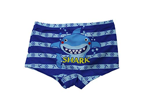 SOL Y PLAYA Bañador Tiburón para niño Bañador Niños Boxer de Natación Traje de Baño...