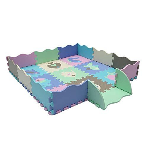 perfecthome Puzzlematte Puzzelmatten Für Babys Puzzlematte -Puzzlematte Aus Eva Ungiftige Verdickte- Geschmacklose Spleißmatte