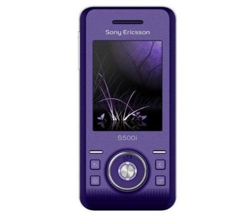 Sony Ericsson S500i lila Handy