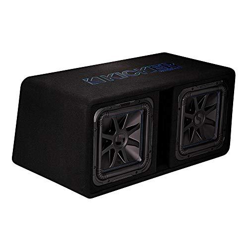 Kicker Solobaric DL7S122-30cm dual basreflexbox
