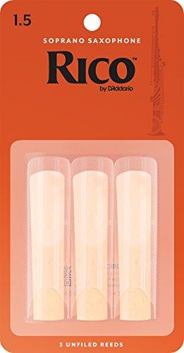 RICO Blätter für Sopransaxophon Stärke 1.5 (3 Stück)