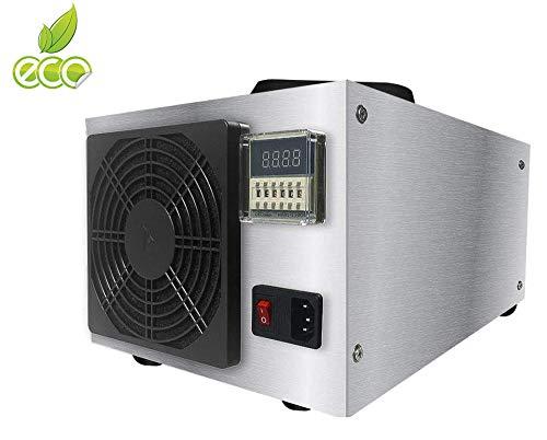 buyaolian 50g generatore ozono Naturale Odore di rimozione e purificatore in Acciaio Inox Commerciale Professionale Ozonizzatore Deodorante e sterilizzatore/Generatore di ozono Industriale