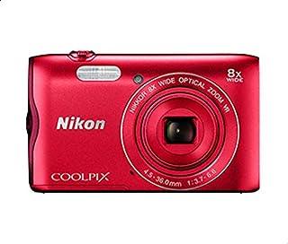 Nikon COOLPIX A300 Digital Camera - Red