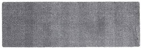Hanse Home Rutschfeste Schmutzfangmatte Fußmatte für In- Und Outdoor Clean & Go Grau, 50x150 cm