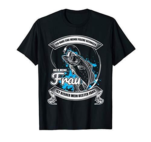 Herren Angler Fischer Angeln Geschenk Hochzeitstag für den Ehemann T-Shirt