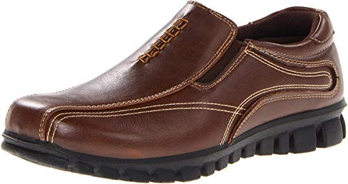 Deer Stags Stadium Slip-On (Little Kid/Big Kid),Brown,13 M US Little Kid