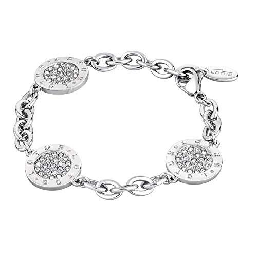 Pulsera Lotus Style Privilege de acero inoxidable LS1751-2/1 plata joyas D3JLS1751-2-1 de acero...