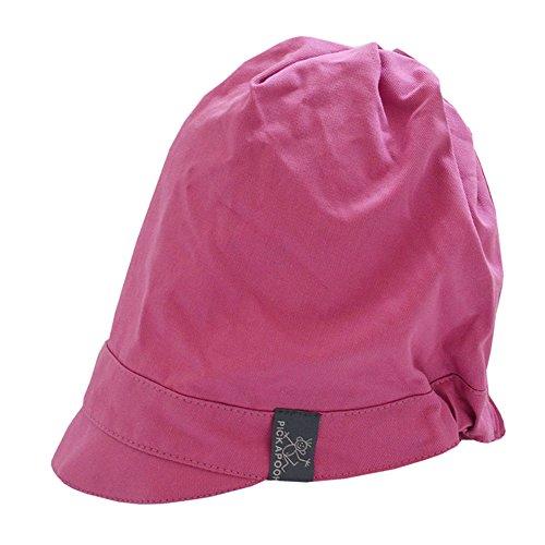 PICKAPOOH Schirmmütze Luna Bio-Baumwolle, Malve Gr. 60