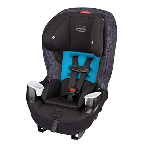 Evenflo Stratos Convertible Car Seat, Glacier