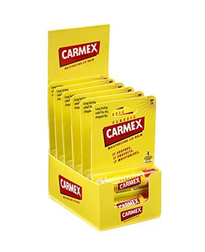 Carmex Classic Click Stick 4.25 g (Pack of 12)