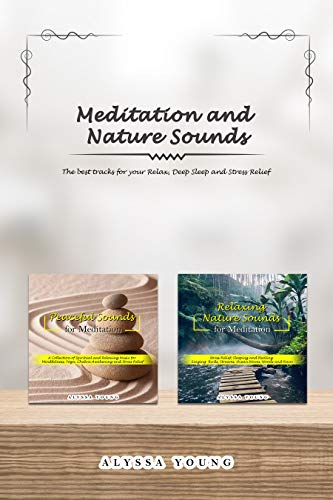 Meditation and Nature Sounds: The Best Tracks for your Relax, Deep Sleep and Stress Relief (English Edition)