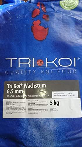 Tri Koi Wachstum - Qualitäts-Koifutter - 6,5 mm (5 kg)