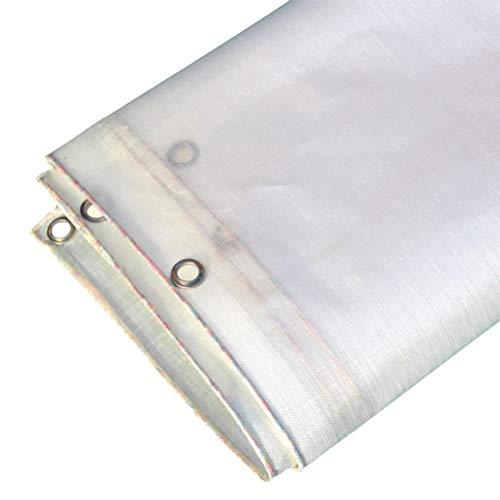 Lona Impermeable Paño Tejido Plástico Translúcido Lona Lona Toldo Suculento Toldo ZHANGQIANG (Color : A, Size : 6 * 10m)